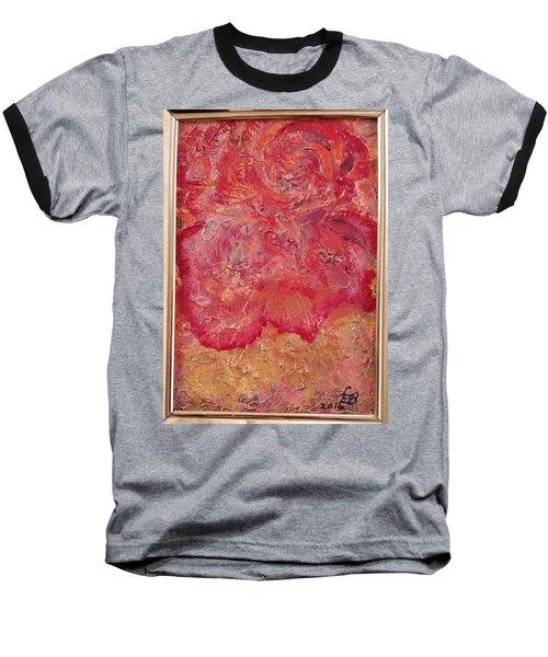 Floral Abstract 2 Baseball T-Shirt