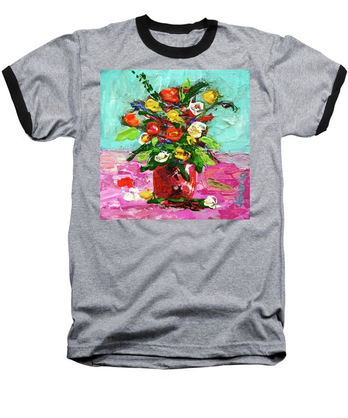 Floral Arrangement Baseball T-Shirt