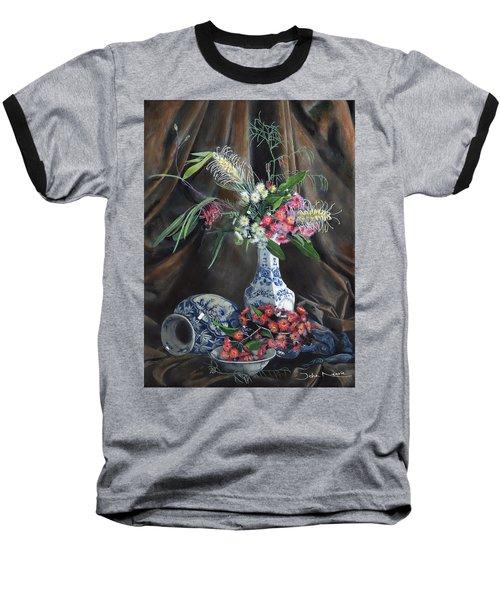 Floral Arrangement Baseball T-Shirt