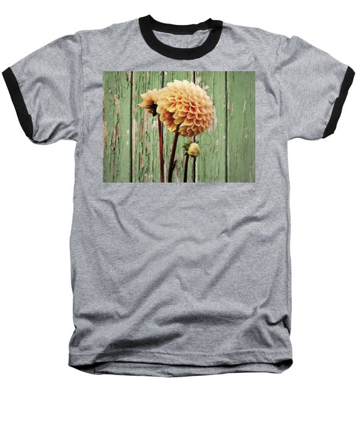 Floral Delight Baseball T-Shirt