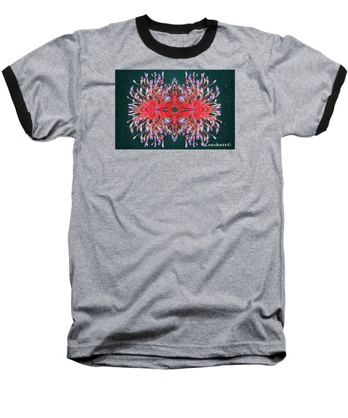 Baseball T-Shirt featuring the photograph Floral Display by Gary Crockett
