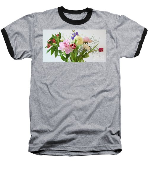 Baseball T-Shirt featuring the photograph Floral Display by Wendy Wilton