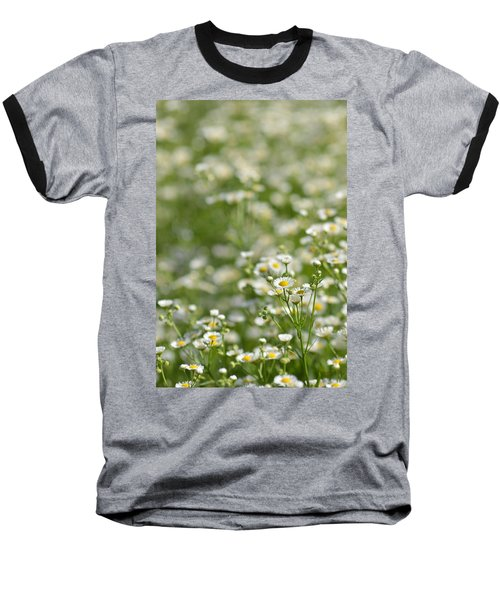 Floral Field #1 Baseball T-Shirt