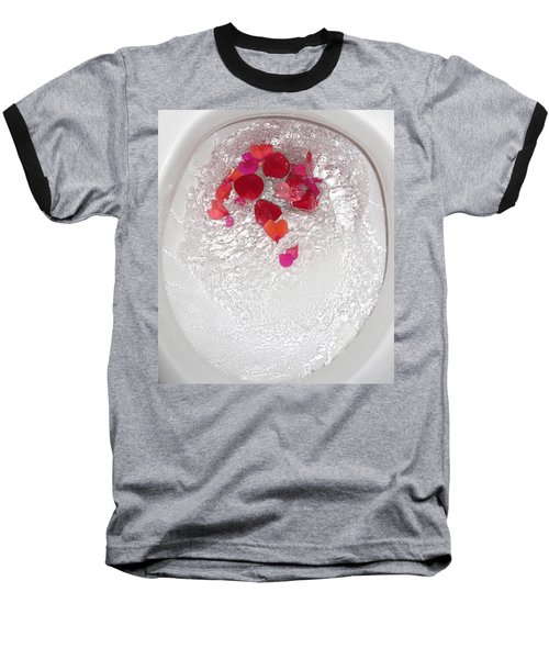 Floral Flush Baseball T-Shirt