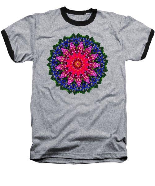 Floral Kaleidoscope By Kaye Menner Baseball T-Shirt