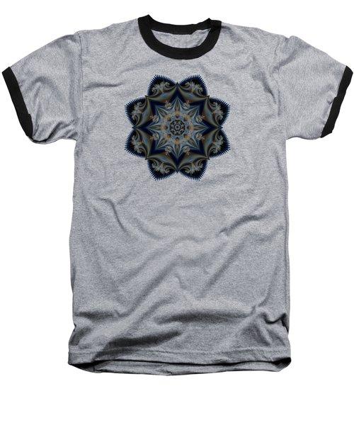 Floral Mandala Baseball T-Shirt