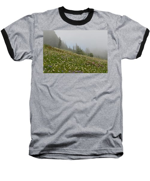 Floral Meadow Baseball T-Shirt
