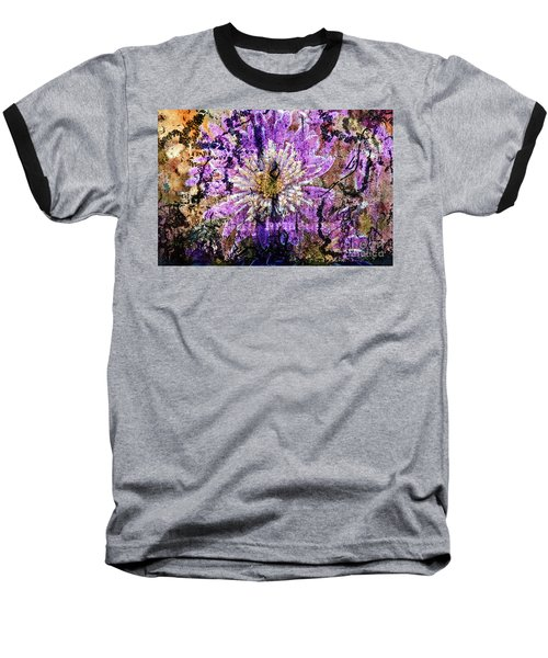 Floral Poetry Of Time Baseball T-Shirt