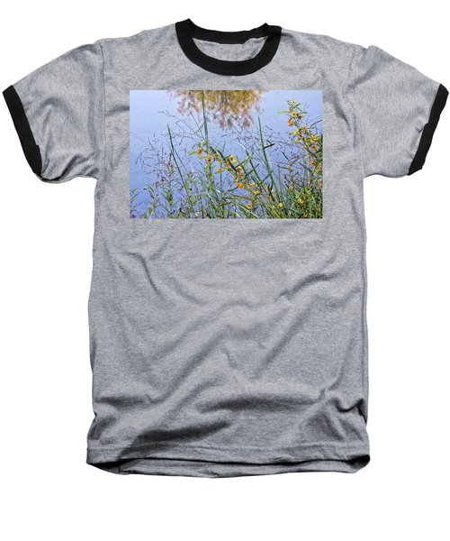 Floral Pond  Baseball T-Shirt