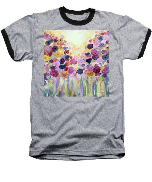 Floral Splendor IIi Baseball T-Shirt