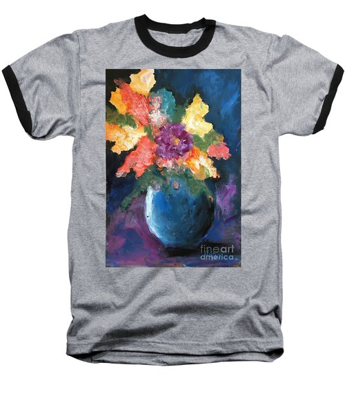 Floral Study 1 Baseball T-Shirt