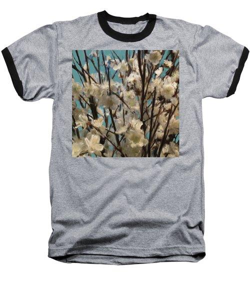 Floral02 Baseball T-Shirt