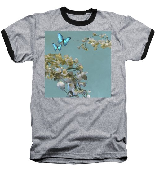 Floral04 Baseball T-Shirt