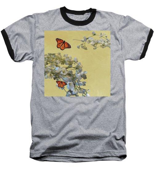 Floral05 Baseball T-Shirt