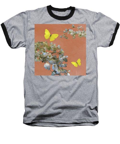 Floral06 Baseball T-Shirt