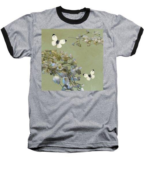 Floral07 Baseball T-Shirt