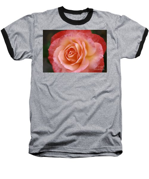 Florange Baseball T-Shirt by Stephen Mitchell