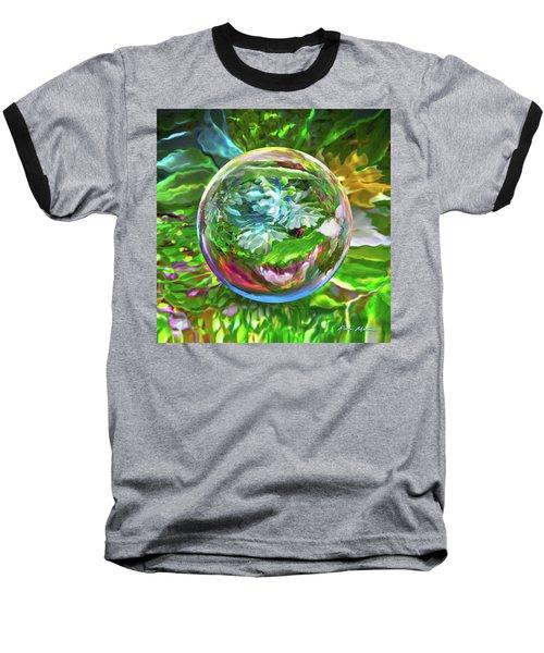 Florascape Baseball T-Shirt