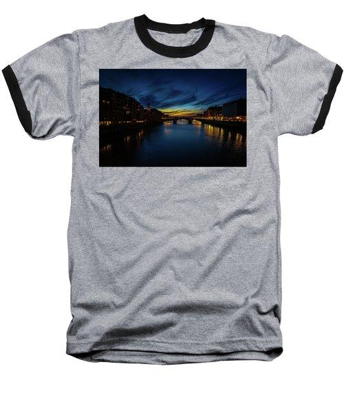 Florence At Sunset Baseball T-Shirt