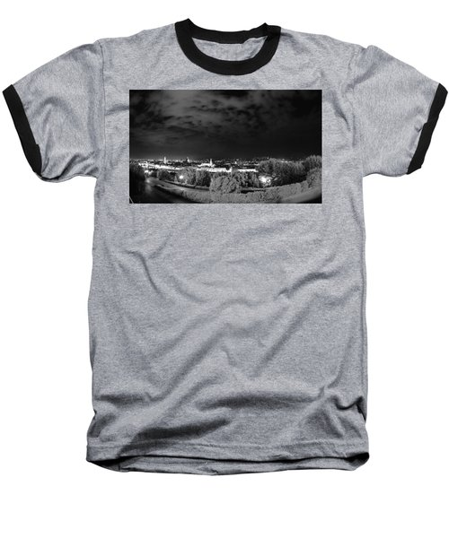 Florence From Above Baseball T-Shirt