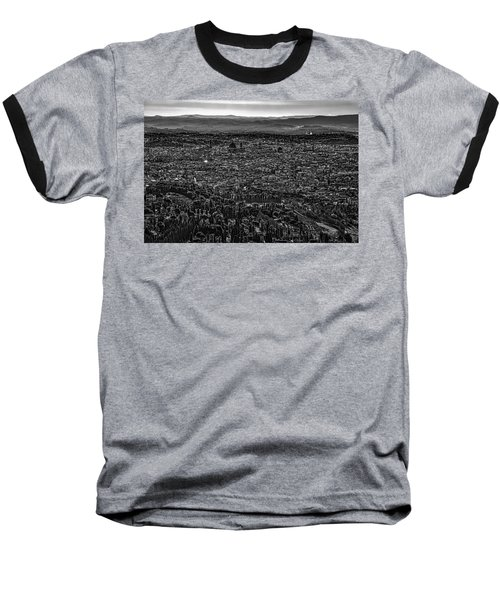 Baseball T-Shirt featuring the photograph Florence From Fiesole by Sonny Marcyan