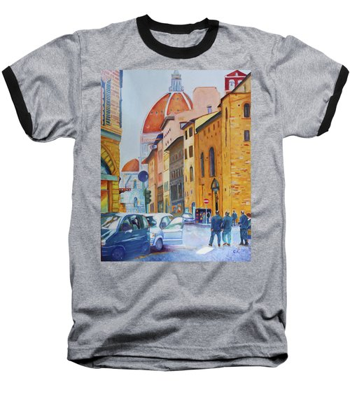 Florence Going To The Duomo Baseball T-Shirt