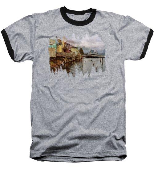 Scene On The Siuslaw  Baseball T-Shirt
