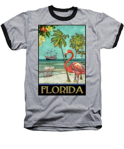 Baseball T-Shirt featuring the photograph Florida Advertisement by Hanny Heim