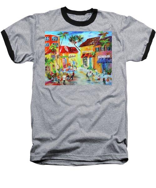 Florida Cafe Baseball T-Shirt