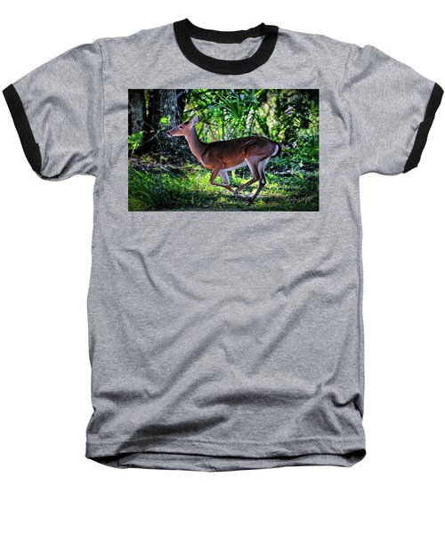 Florida Deer Baseball T-Shirt