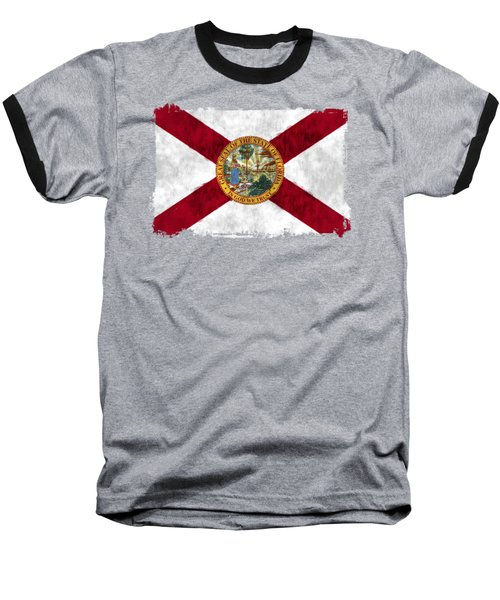 Florida Flag Baseball T-Shirt