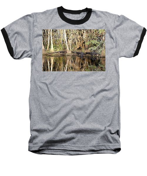 Baseball T-Shirt featuring the photograph Florida Gators - Everglades Swamp by Jerry Battle