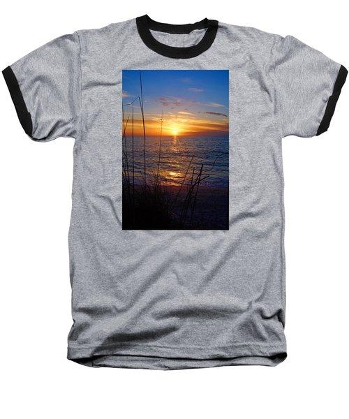 Florida Gulf Coast Sunset Baseball T-Shirt
