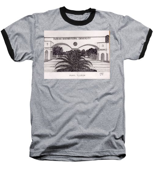 Florida International University Baseball T-Shirt by Frederic Kohli