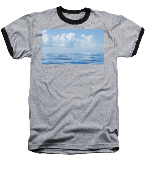 Florida Keys Clouds And Ocean Baseball T-Shirt