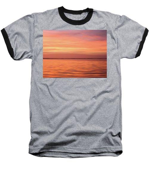 Florida Keys Sunset Impressions Baseball T-Shirt