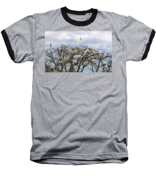 Florida Rookery Baseball T-Shirt