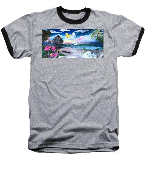 Florida Room Baseball T-Shirt by Dawn Harrell