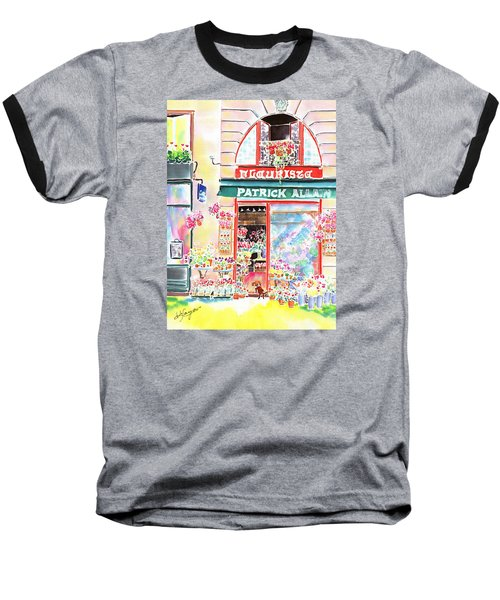 Florist In Ile St.louis Baseball T-Shirt