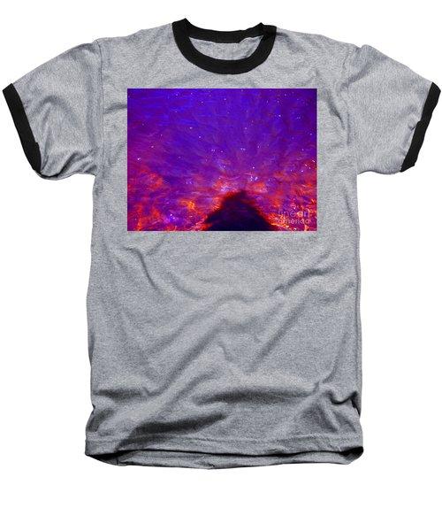 Flourescent Waters Baseball T-Shirt