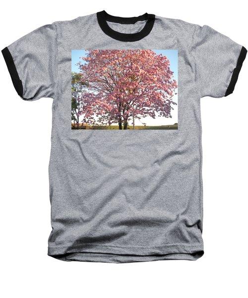 Flourish Baseball T-Shirt by Beto Machado