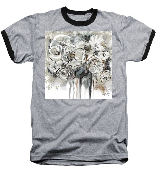 Floral Anxiety  Baseball T-Shirt
