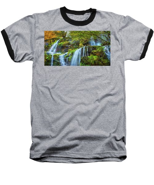 Baseball T-Shirt featuring the photograph Flow by John Poon
