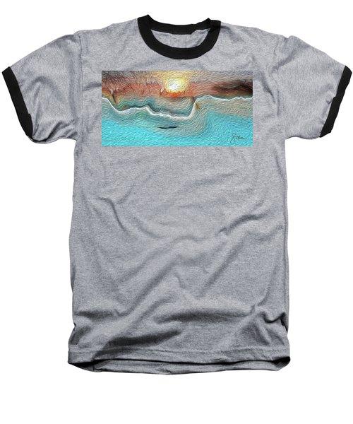 Flow Of Creation Baseball T-Shirt