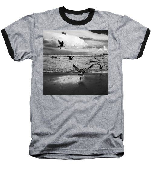 Baseball T-Shirt featuring the photograph Flow by Ryan Weddle
