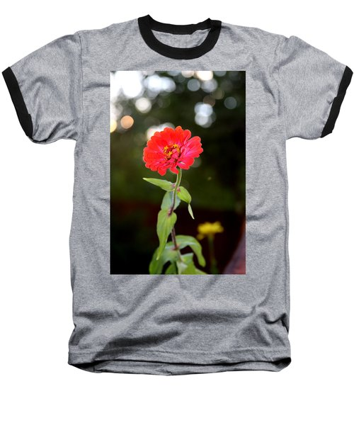 Baseball T-Shirt featuring the photograph Flower And Hope by Vadim Levin