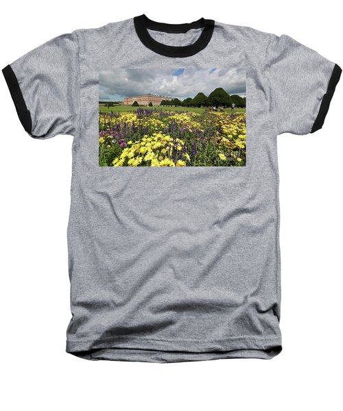 Flower Bed Hampton Court Palace Baseball T-Shirt