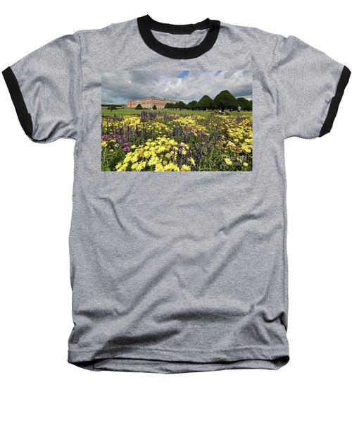 Flower Bed Hampton Court Palace Baseball T-Shirt