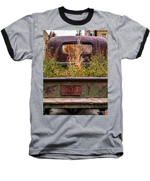 Flower Bed - Nature And Machine Baseball T-Shirt