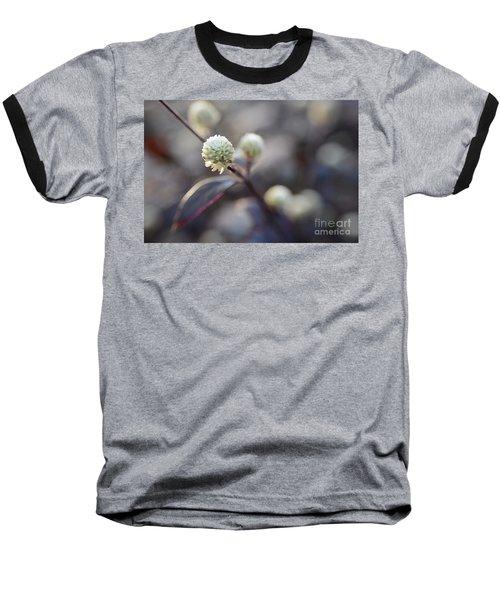 Flower Bokeh Baseball T-Shirt
